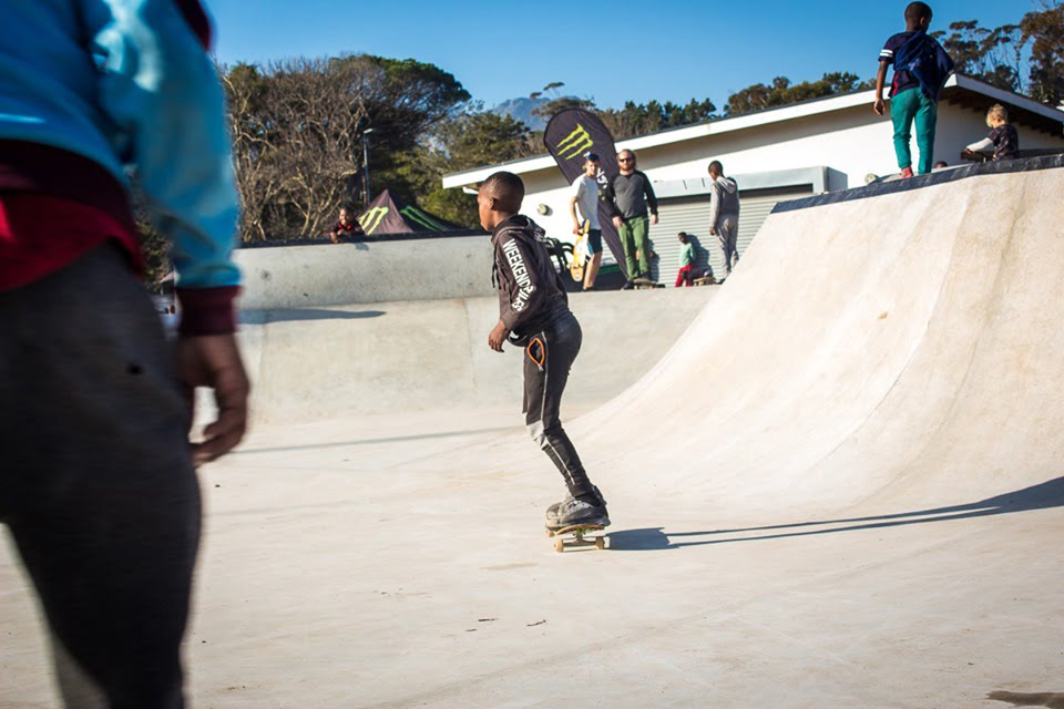 Hout Bay Celebrates Launch Of New Community Skate Park